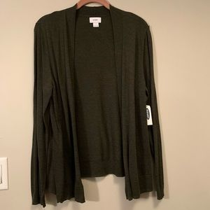 NWT Green old navy cardigan